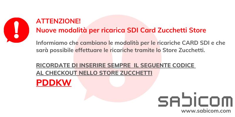 Ricarica SDI